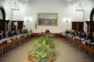 conseil des ministres 2016